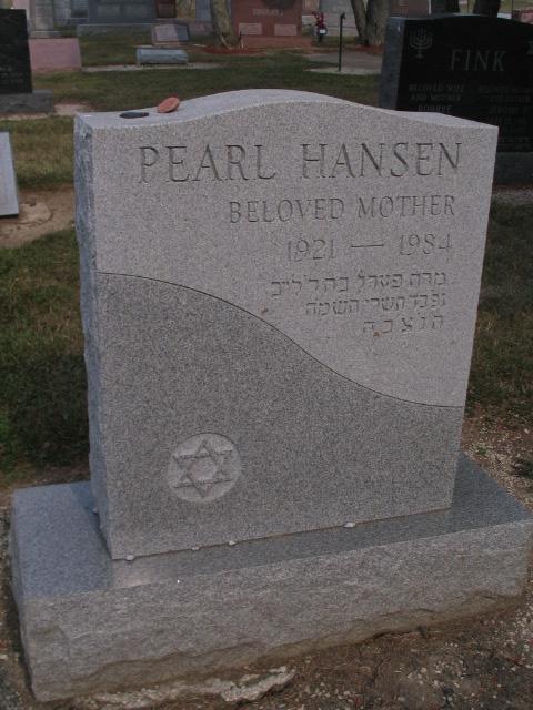 Pearl Hansen Monument